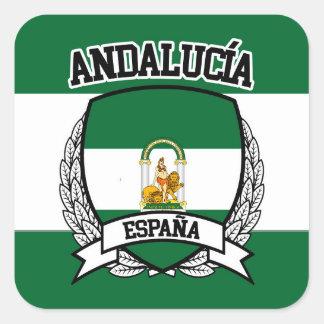 Andalucía Square Sticker