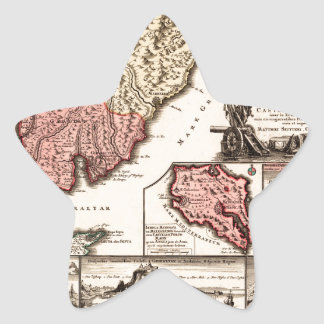 Andalusia 1720b star sticker