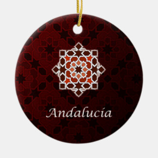Andalusia art of tile and Moroccan ceramics in Ceramic Ornament
