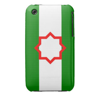Andalusia ethnic flag spain Case-Mate iPhone 3 cases