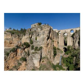 Andalusia - Gorge of Ronda postcard