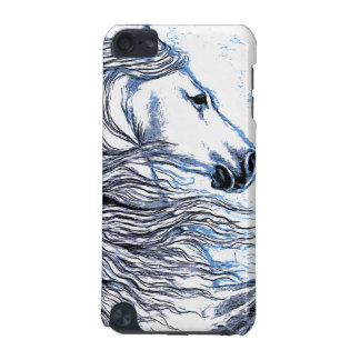 Andalusian Horse blue iPod Touch (5th Generation) Cases