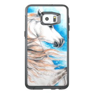 Andalusian Horse Blue OtterBox Samsung Galaxy S6 Edge Plus Case