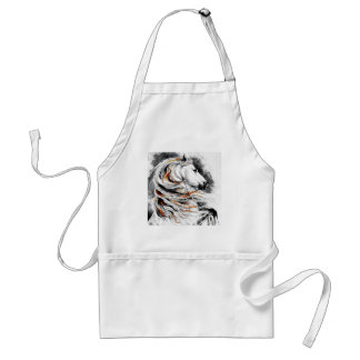 Andalusian Horse Comic Standard Apron