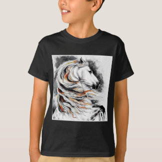 Andalusian Horse Comic T-Shirt
