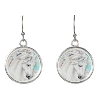 Andalusian In Blue Earrings