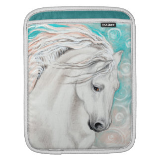 Andalusian In Blue iPad Sleeve