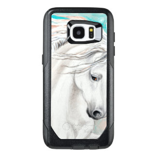 Andalusian In Blue OtterBox Samsung Galaxy S7 Edge Case