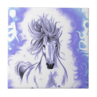 Andalusian In Blue Tile