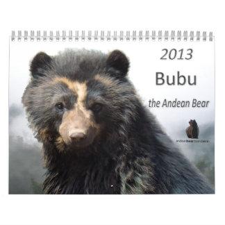 Andean Bear Foundation Calendar 2013