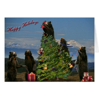 Andean Bear Holiday 2011 Card