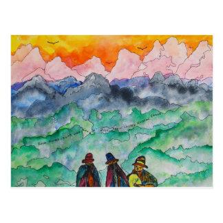 Andean Landscape Postcard