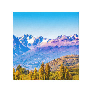 Andean Patagonia Landscape, Aysen, Chile Canvas Print
