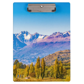 Andean Patagonia Landscape, Aysen, Chile Clipboard