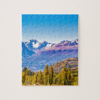 Andean Patagonia Landscape, Aysen, Chile Jigsaw Puzzle