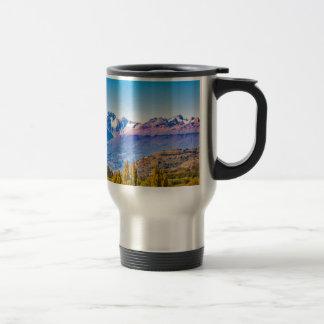 Andean Patagonia Landscape, Aysen, Chile Travel Mug