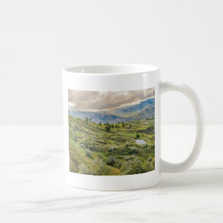 Andean Rural Scene Quilotoa, Ecuador Coffee Mug