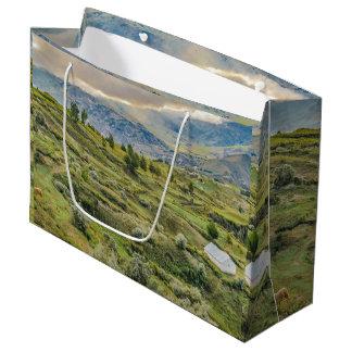 Andean Rural Scene Quilotoa, Ecuador Large Gift Bag