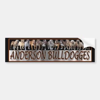 Anderson Bulldogge Bumper Sticker
