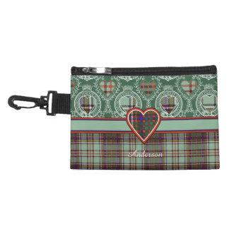 Anderson clan Plaid Scottish tartan Accessories Bag