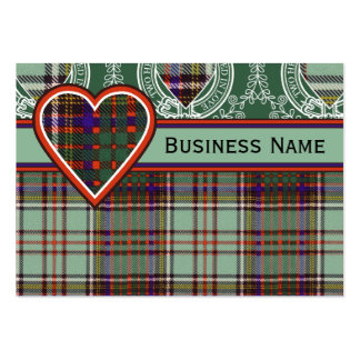 Anderson clan Plaid Scottish tartan Large Business Cards (Pack Of 100)