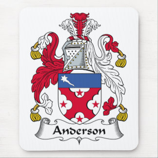 Anderson Family Crest Mouse Pad