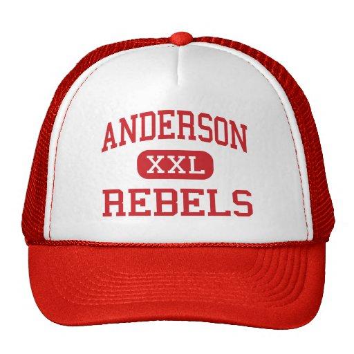 Anderson - Rebels - Junior - Anderson Alabama Mesh Hat