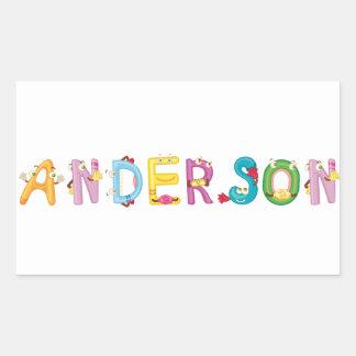 Anderson Sticker