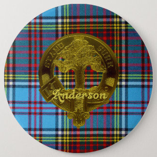 Anderson Tartan & Motif Button