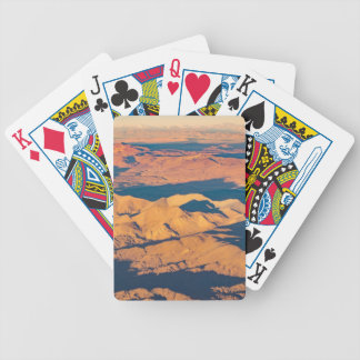 Andes Mountains Aerial Landscape Scene Bicycle Playing Cards