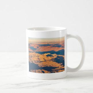 Andes Mountains Aerial Landscape Scene Coffee Mug