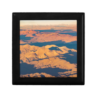 Andes Mountains Aerial Landscape Scene Gift Box