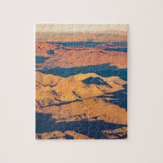 Andes Mountains Aerial Landscape Scene Jigsaw Puzzle