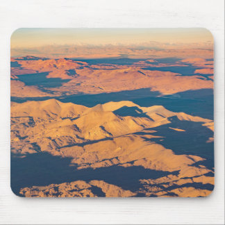 Andes Mountains Aerial Landscape Scene Mouse Pad