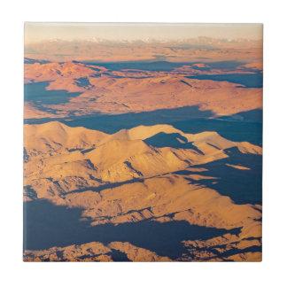 Andes Mountains Aerial Landscape Scene Tile