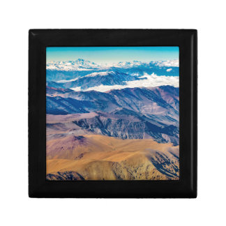 Andes Mountains Aerial View, Chile Gift Box