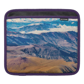 Andes Mountains Aerial View, Chile iPad Sleeve