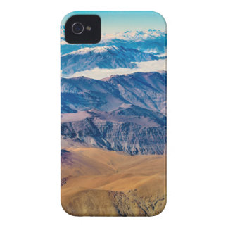 Andes Mountains Aerial View, Chile iPhone 4 Case-Mate Cases