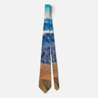 Andes Mountains Aerial View, Chile Tie