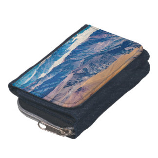 Andes Mountains Aerial View, Chile Wallet