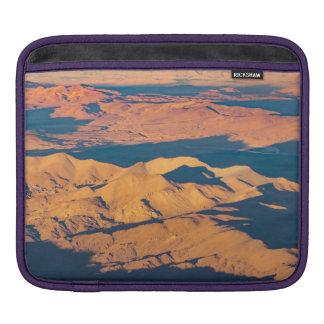 Andes Mountains Desert Aerial Landscape Scene iPad Sleeve