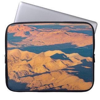 Andes Mountains Desert Aerial Landscape Scene Laptop Sleeve