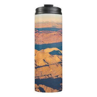 Andes Mountains Desert Aerial Landscape Scene Thermal Tumbler