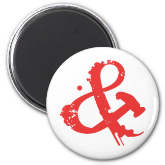 ANDHAMMER ARMY 6 CM ROUND MAGNET