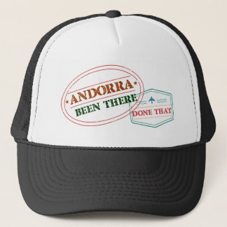 Andorra Been There Done That Trucker Hat