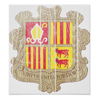 Andorra Coat Of Arms Posters