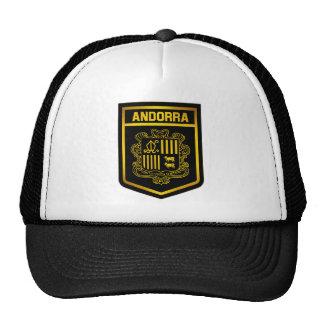 Andorra Emblem Cap