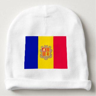 Andorra Flag Baby Beanie