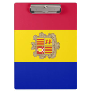 Andorra Flag Clipboard