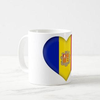 Andorra Flag Coffee Mug